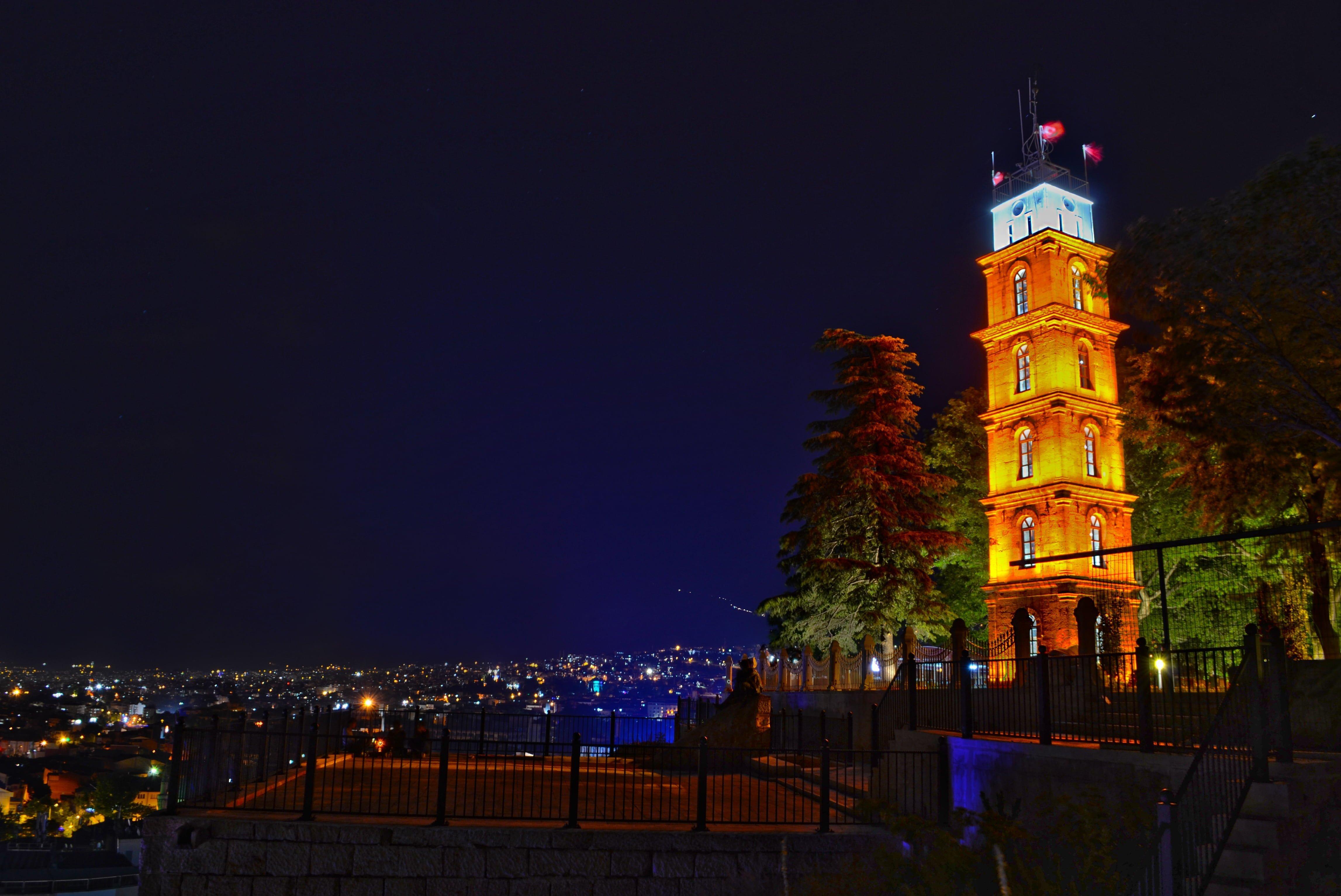 Bursa Tophane Saat Kulesi