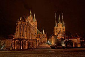 Erfurt Katedrali Turingen Almanya