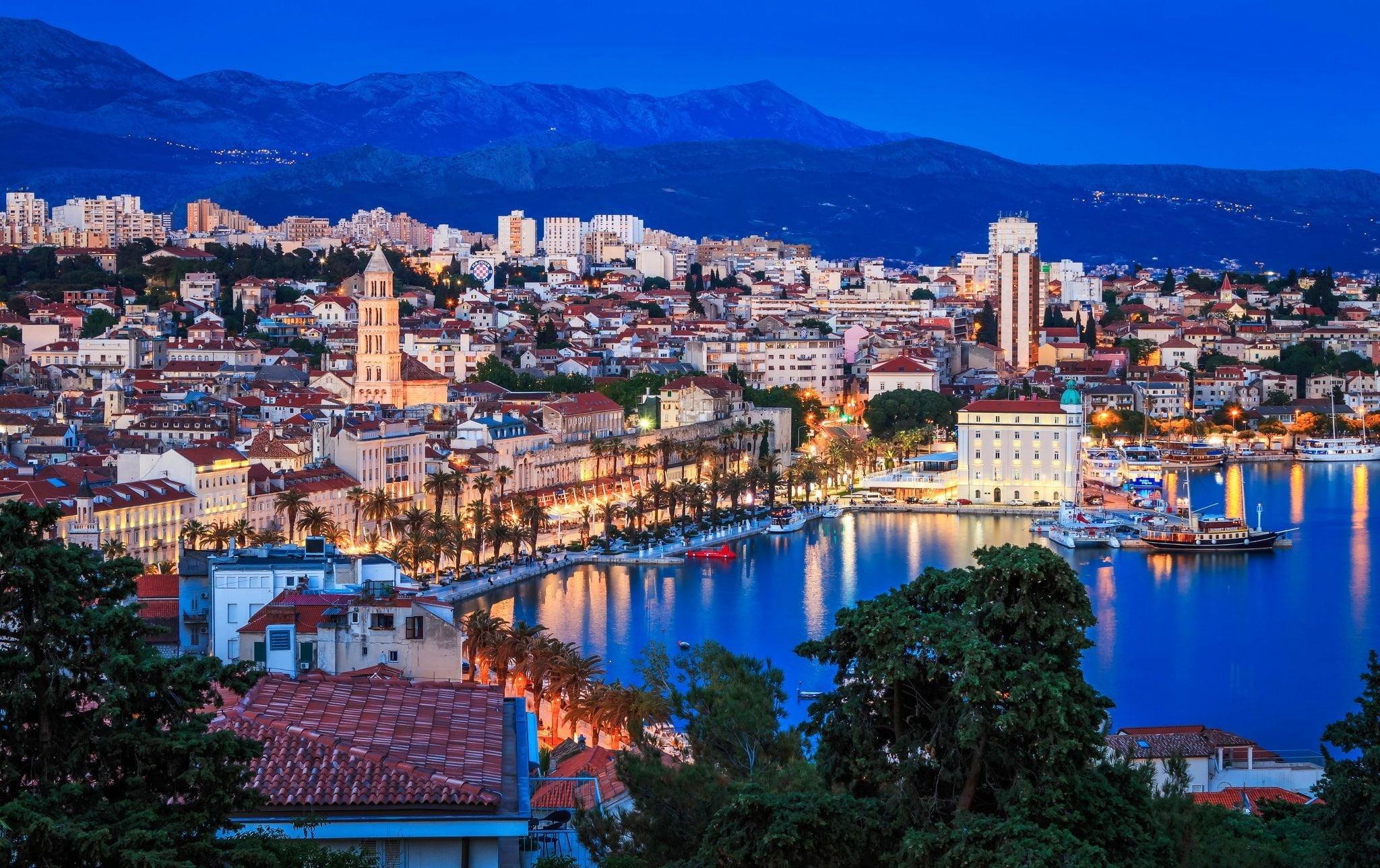 split, croatia, hırvatistan