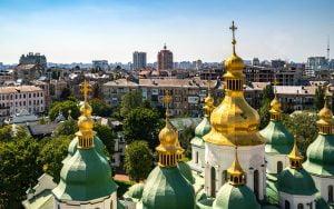 St. Michael's Altın Kubbeli Manastırı-Kiev